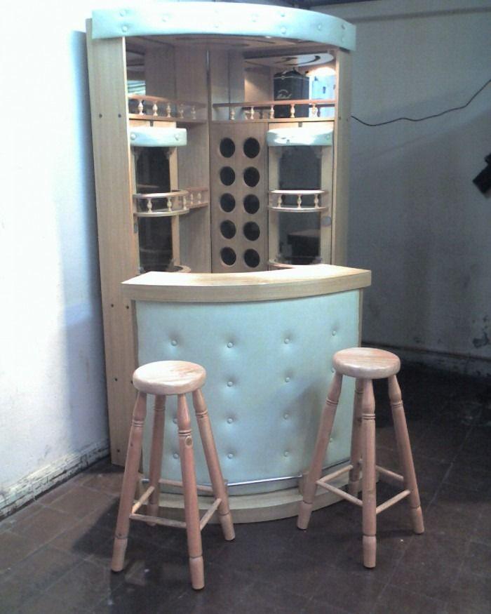 Esquineros de vidrio para sala buscar con google ideas for Bar madera moderno