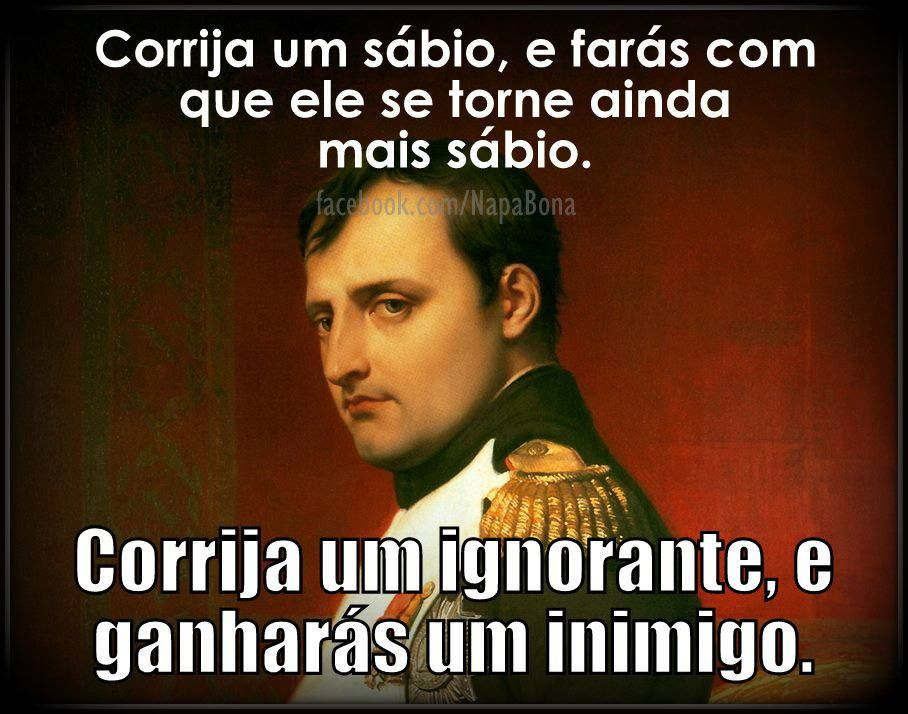 Napoleão...