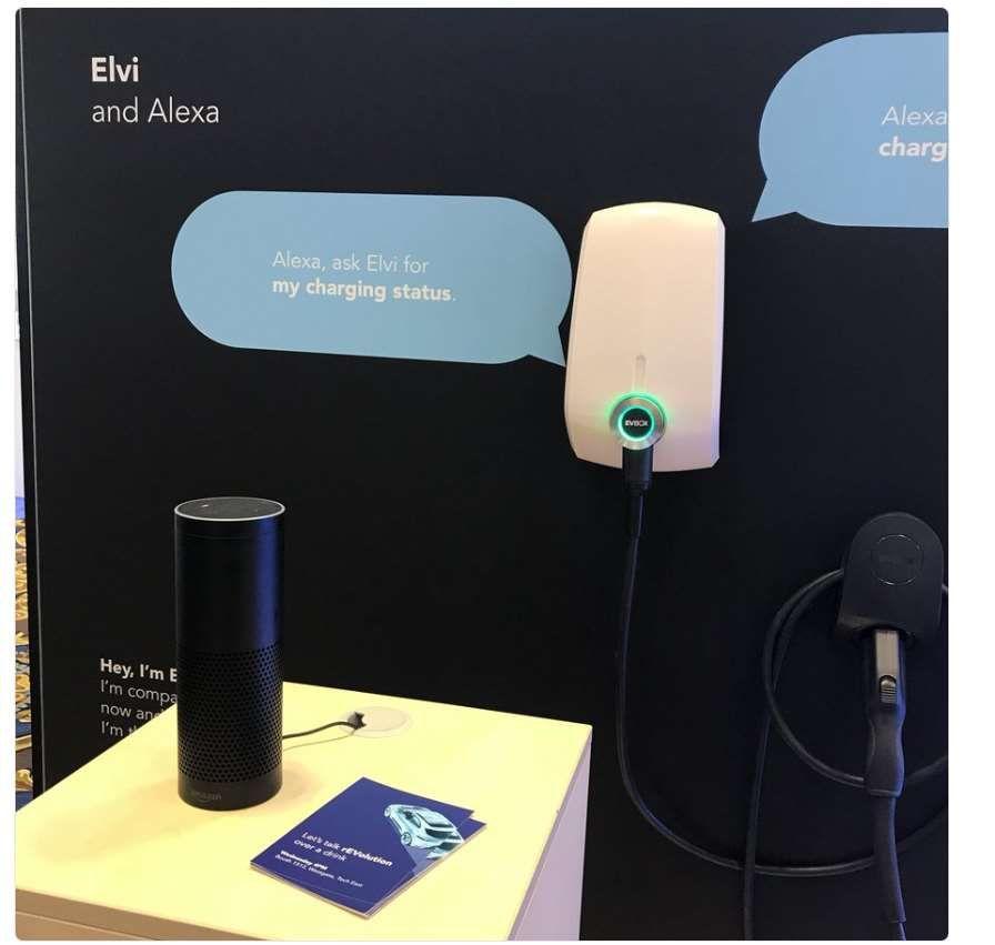 EVBox est le premier fabricant mondial de bornes de recharge de véhicules électriques. L'entreprise propose également des logiciels de gestion de charge. A las Vegas, EVBox annonce une compatibilité avec Alexa.  Les assistants connectés commencent à prendre de plus en plus de place dans not... https://www.planet-sansfil.com/2018-alexa-recharge-desormais-vehicule-electrique-evbox/ Alexa, CES 2018, EVBOX, sans fil, véhicule électrique, Wireless