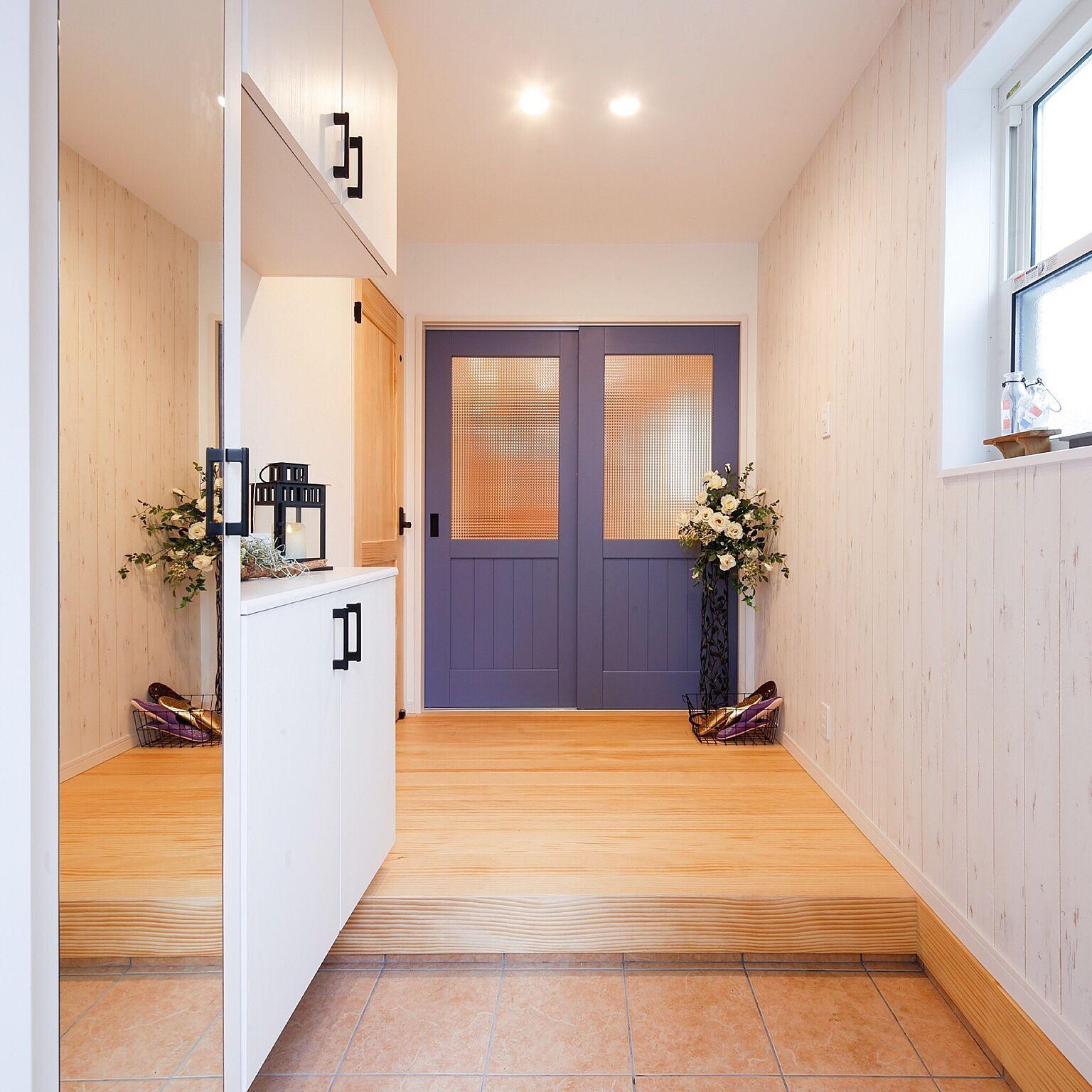うらやましくなる うっとりする玄関 洗面所 廊下の実例 2020