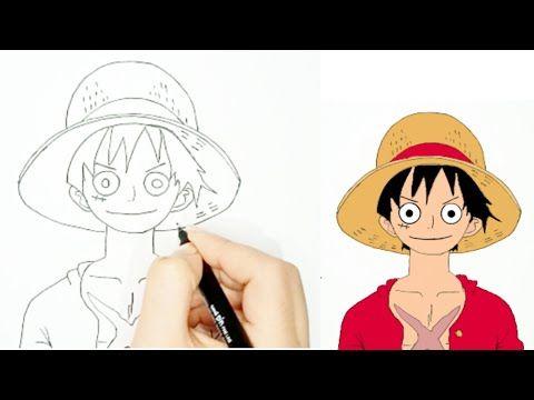 رسم أنمي رسم لوفي من انمي وان بيس رسم سهل Youtube Love Drawing From Cartoon One Piece In 2020 Anime Drawings Drawings Anime