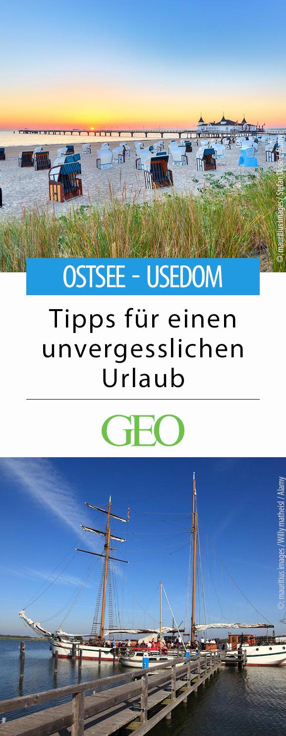 Usedom Tipps für einen unvergesslichen Urlaub Usedom
