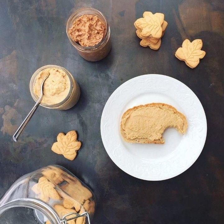 Découvrez la recette de beurre de biscuits maison ultra facile de @marieevel