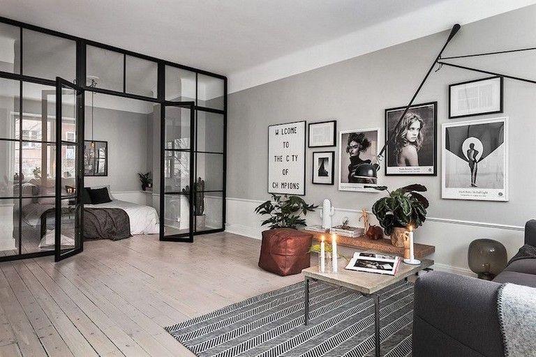 95 Handsome Glass Houses Architecture Ideas Apartment Design Grey Walls Scandinavian Interior Design