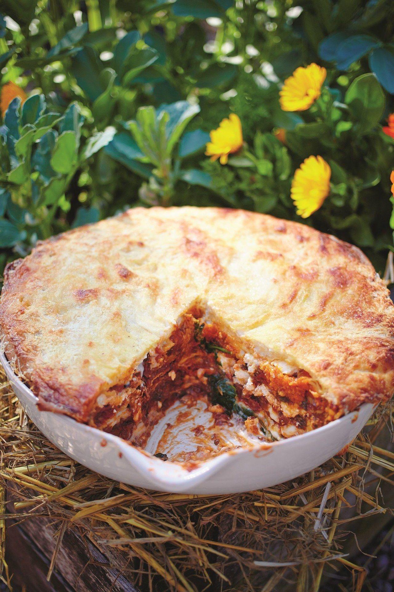 How To Make Jamie Oliver S Vegetarian Lasagna From Scratch Lasagna