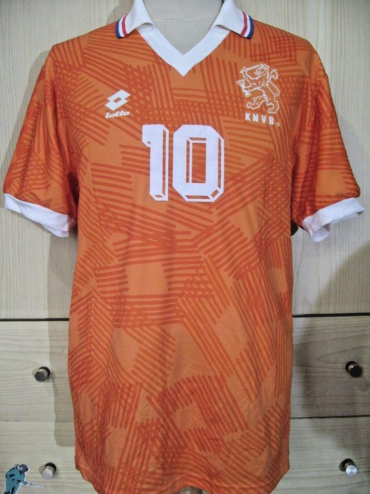 4e08a47fd  RUDDGULLIT  HOLLAND  LOTTO  EURO 1992 HOME  FOOTBALLshirt  SOCCERSHIRT  JERSEY  M  VINTAGE