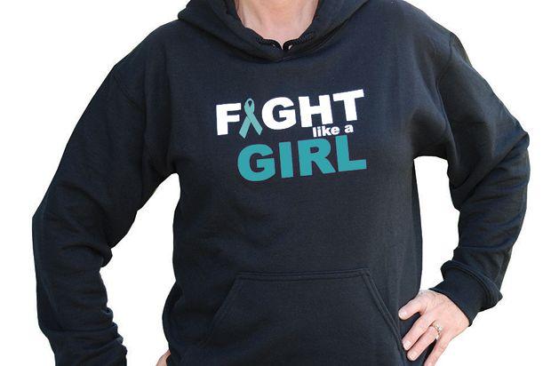 Fight Like A Girl Hooded Sweatshirt Choose Hope Girl Hooded Sweatshirt Sweatshirts Fight Like A Girl