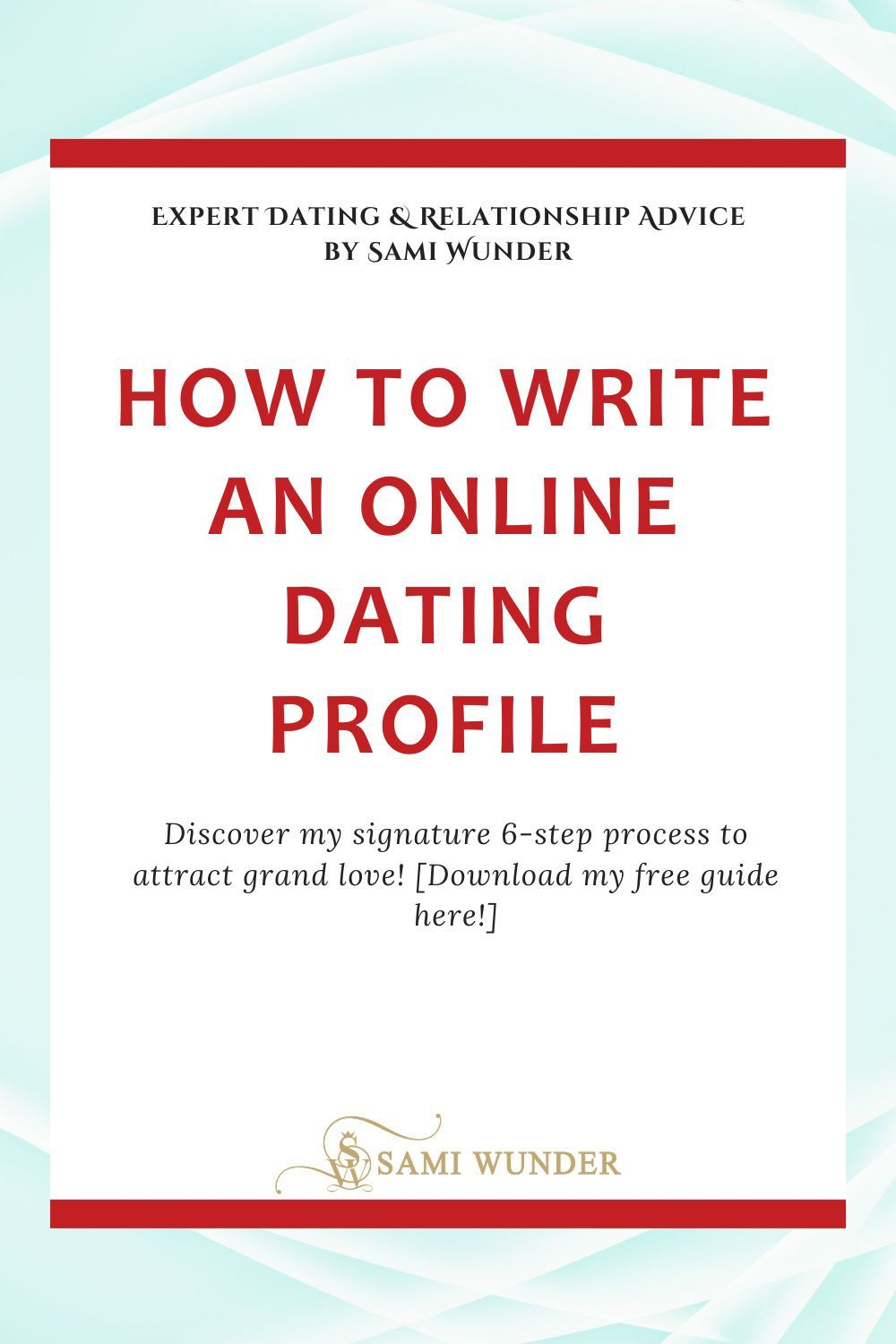 How To Write An Online Dating Profile 7 Expert Tips To Stand Out Online In 2020 Online Dating Profile Online Dating Profile Examples Dating Relationship Advice