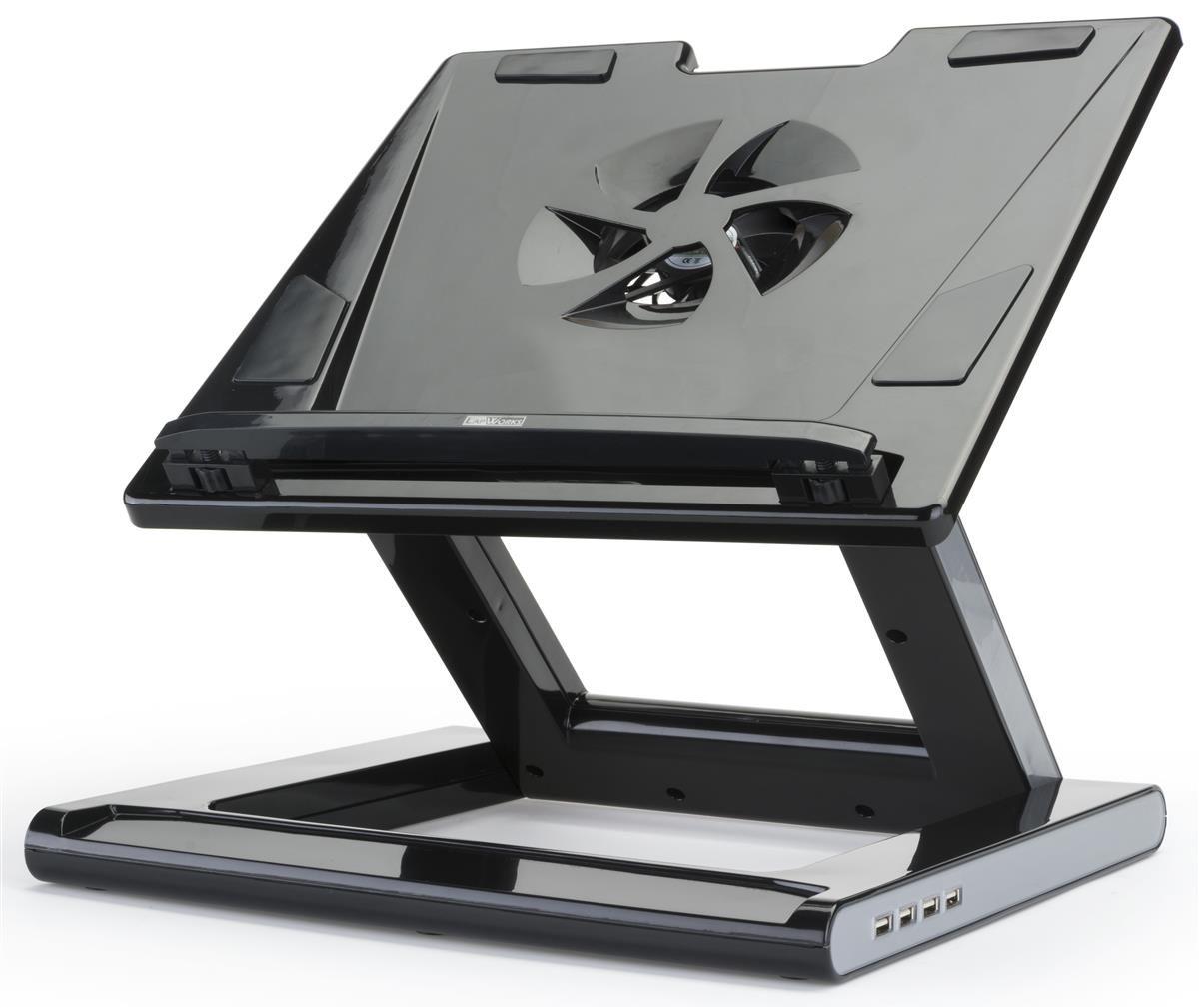 Laptop Desk Stand for Tabletop Tilting Height Adjustable