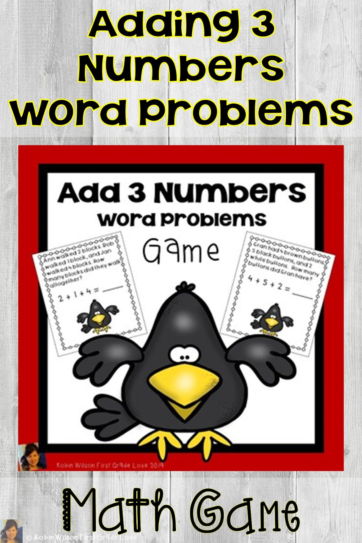Adding 3 Numbers First Grade Activities