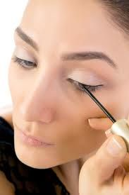 Eye Liner Application Tips for the Upper Lash Line: •	Apply eyeliner as close to the lash line as possible, and place it between each and every eyelash. It's best to apply liner after your eyeshadow to create a defined, solid line. •	To start, keep the line as thin as possible. If you desire a thicker line, you can always build up to it.  •	To add drama, line the outer corner more thickly. https://www.facebook.com/media/set/?set=a.10151509297202653.1073741917.92433347652&type=3