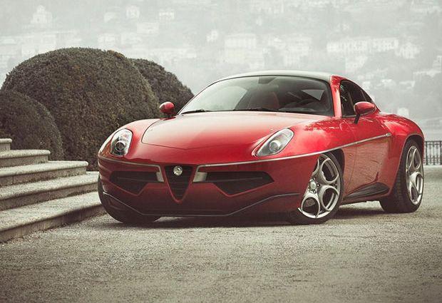 The New Alfa Romeo Disco Volante