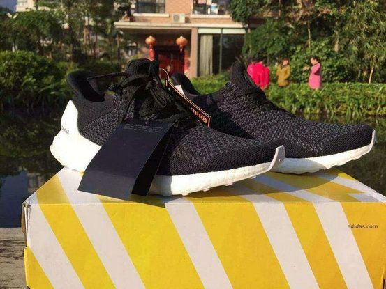 online store 214f1 980cf ADIDAS X HYPEBEAST ULTRA BOOST UNCAGED Black White UK Trainers 2017 Running  Shoes 2017