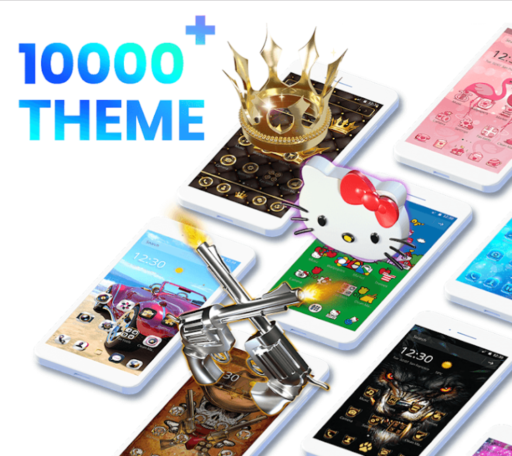 Get over 10,000 phone themes  Wallpaper | Theme | Launcher