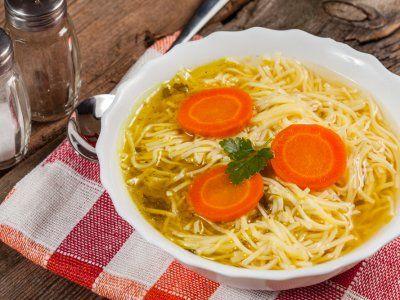 Receta de Sopa de Fideos | Deliciosa y calientita sopa de fideos, ideal para los niños y adultos, acompaña esta deliciosa sopa con el queso de tu preferencia.