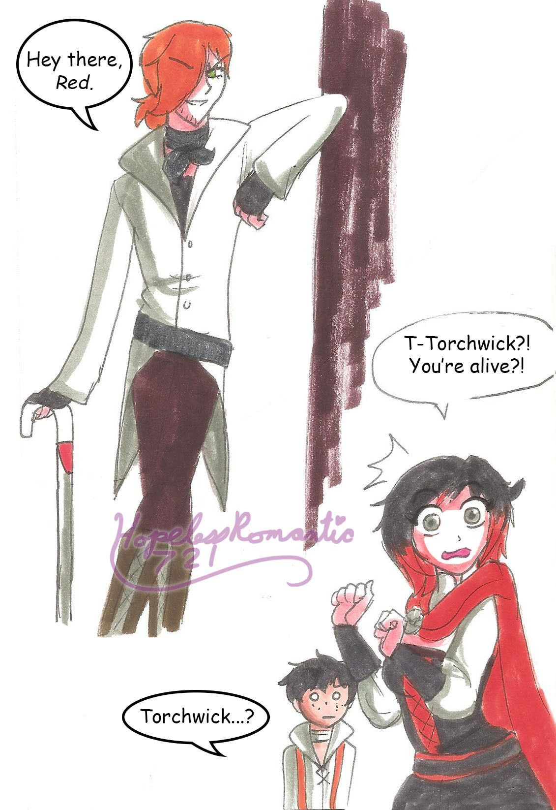 Return of Roman Torchwick | stuff I like | Rwby, Rwby ships, Rwby comic