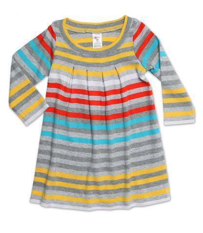 Zutano Baby Girls Multi Stripe Jacket