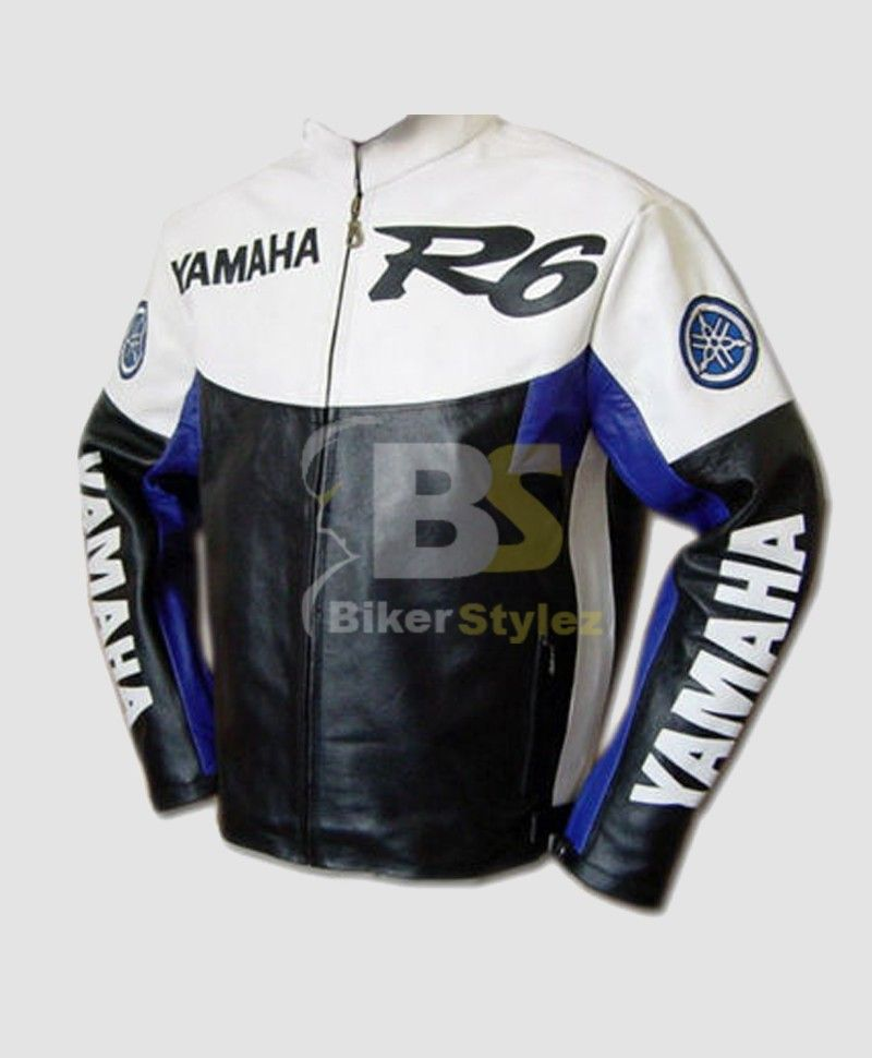 Yamaha R6 Blue White MOTORCYCLE Outfit