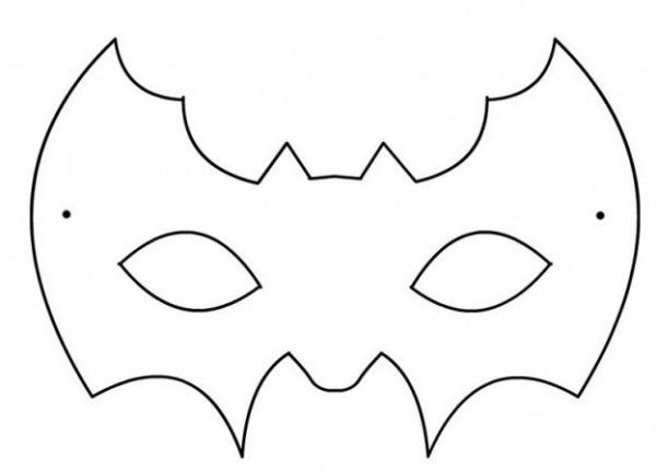 El Murcielago De Batman Para Dibujar Google Search Mascara De