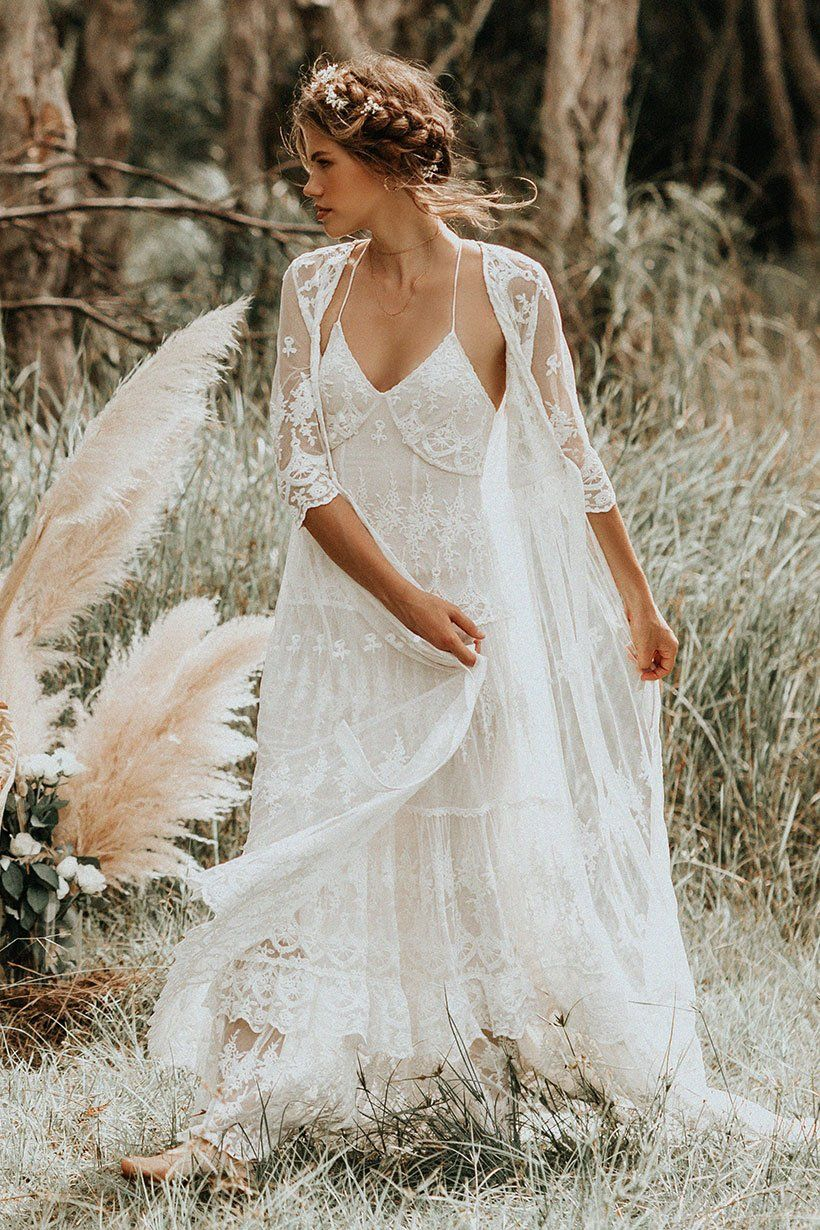 Canyon Moon Mesh Duster In 2020 Lace Weddings Wedding Dresses
