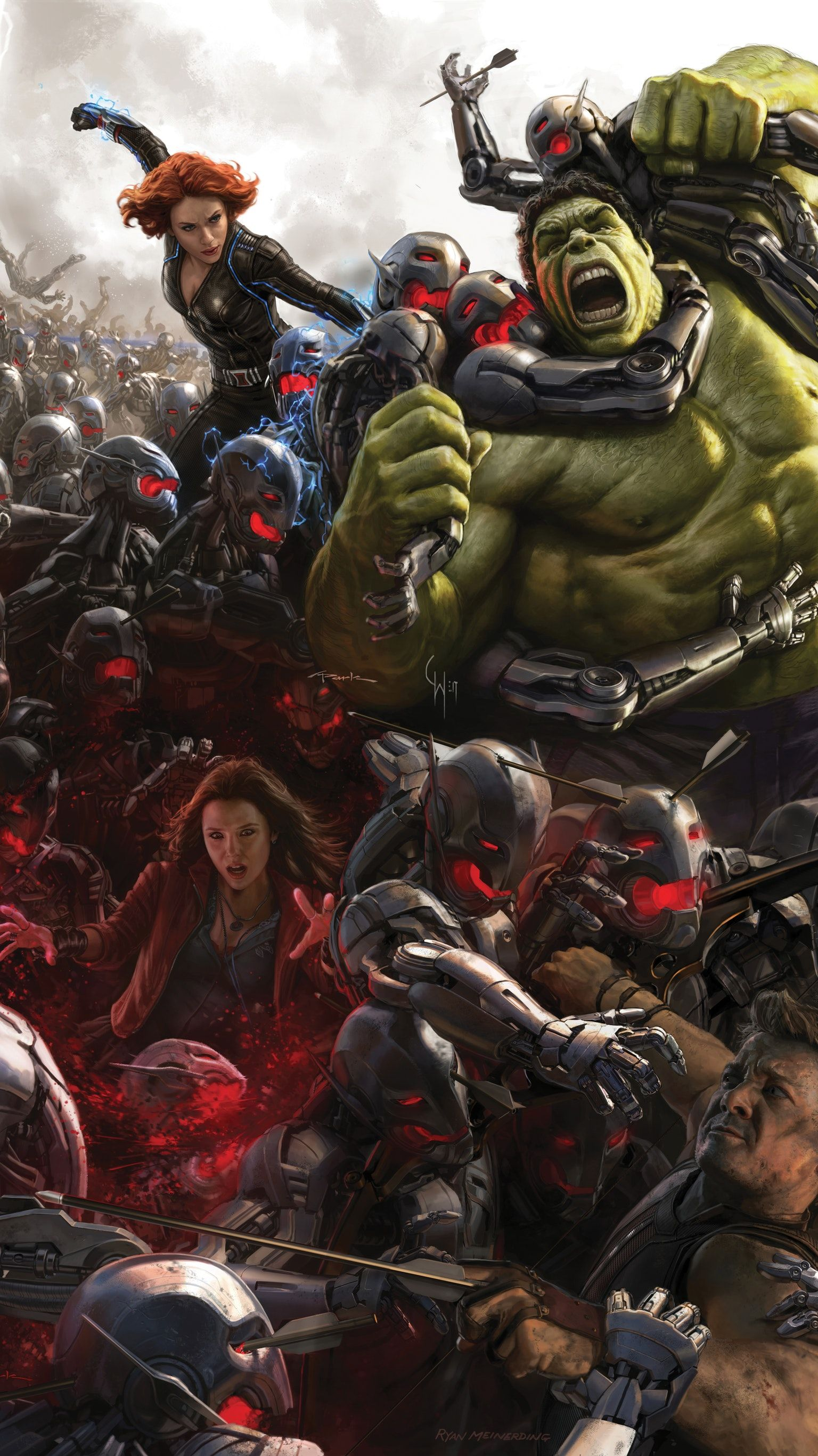 Avengers Age Of Ultron 2015 Phone Wallpaper