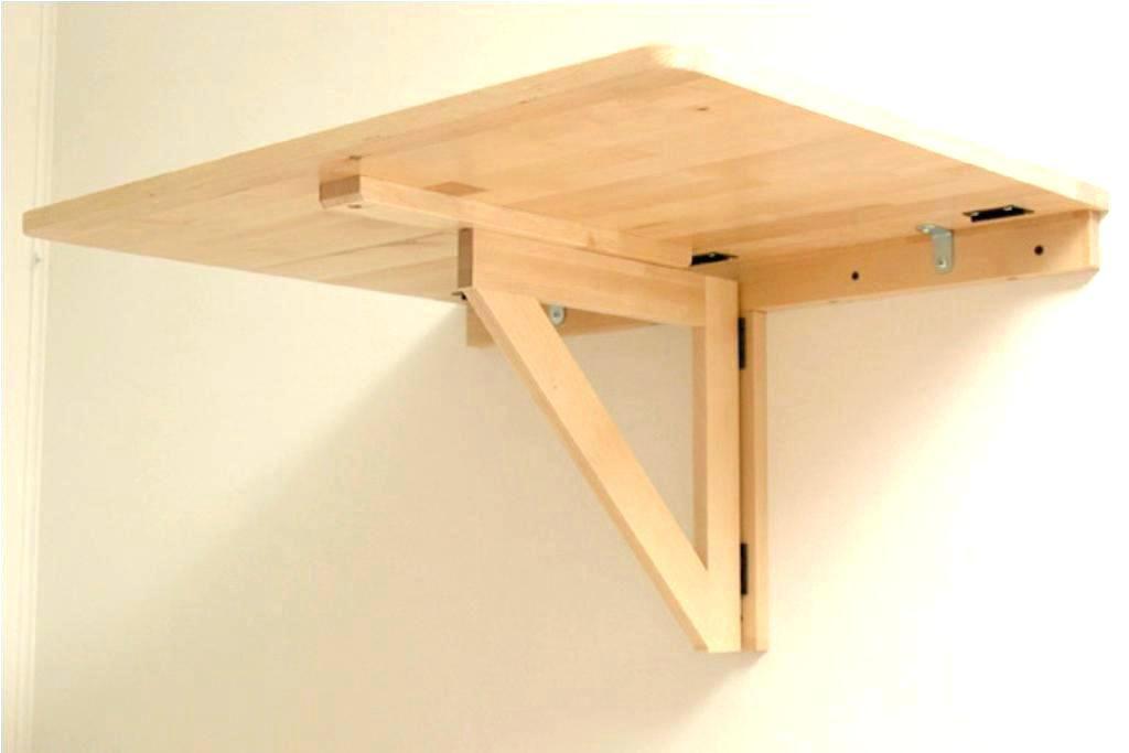 Herunterklappbare Wandtisch Wandtisch