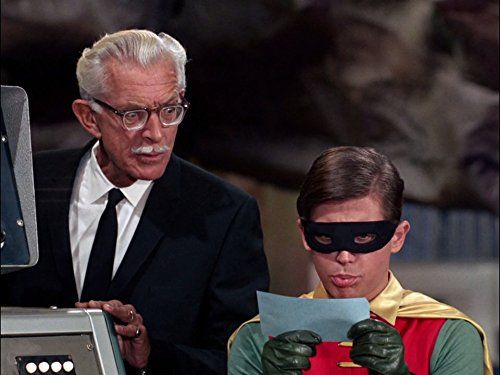Alan Napier And Burt Ward In Batman 1966 Batman Tv Series Batman 1966 Batman Van wikipedia, de gratis encyclopedie. alan napier and burt ward in batman
