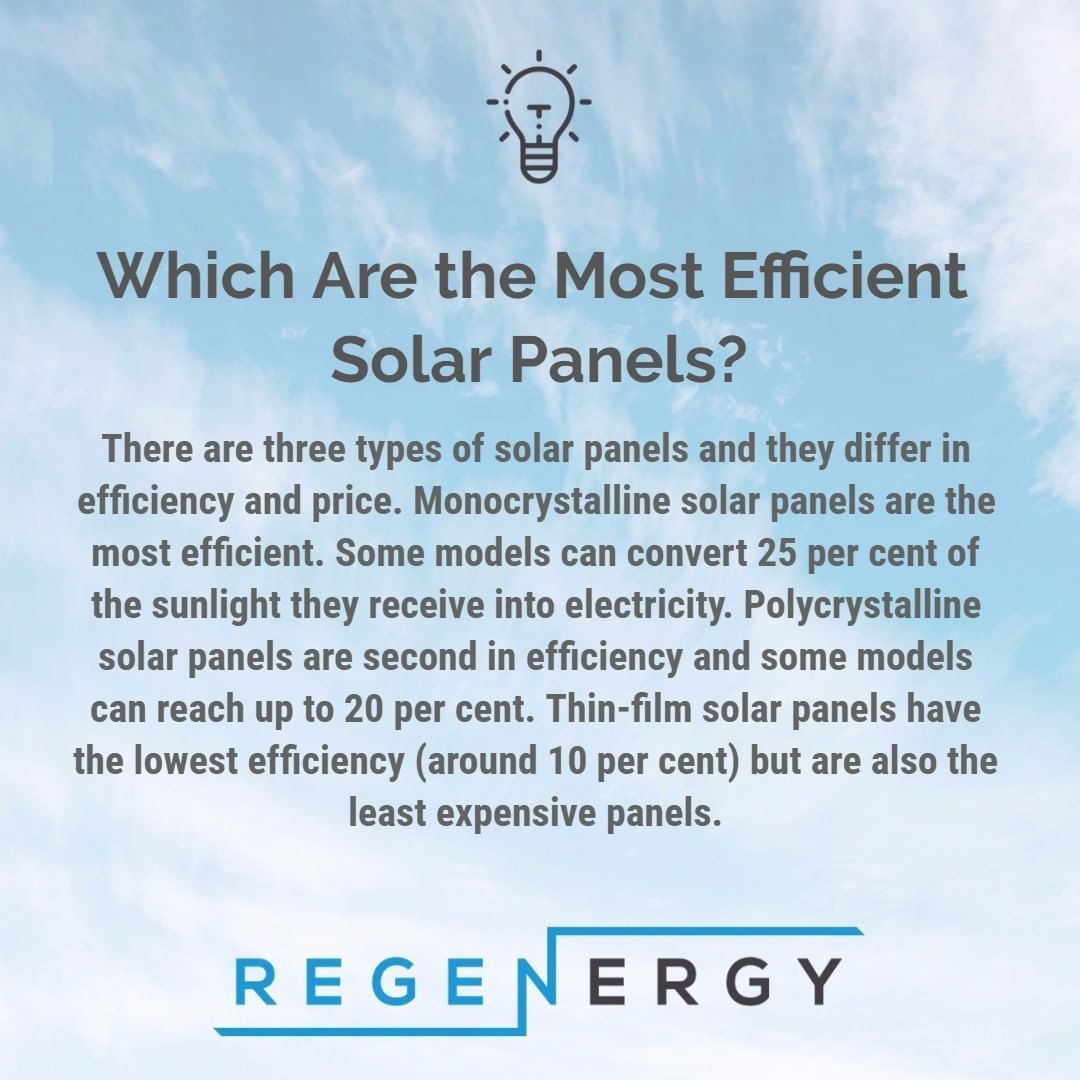 Which Are The Most Efficient Solar Panels Solar Energy Solutions Solar Pv Systems Most Efficient Solar Panels