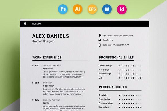 Resume \/ CV -  - original resume templates