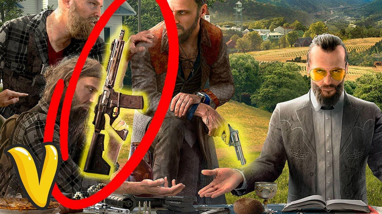 farcry5gamer.comFAR CRY 5 CONFIRMED WEAPONS LIST! Far Cry 5 All Confirmed Weapons Far Cry 5 all weapons confirmed from the gameplay trailer and game art! Far Cry 5 confirmed weapons list that you can expect to arrive when the game launches in 2018  ►►► CRAZY GAME DEALS!    ► Stay Connected:  ● TWITTER -    ● TWITCH -   ● INSTAGRAM - http://farcry5gamer.com/far-cry-5-confirmed-weapons-list-far-cry-5-all-confirmed-weapons/