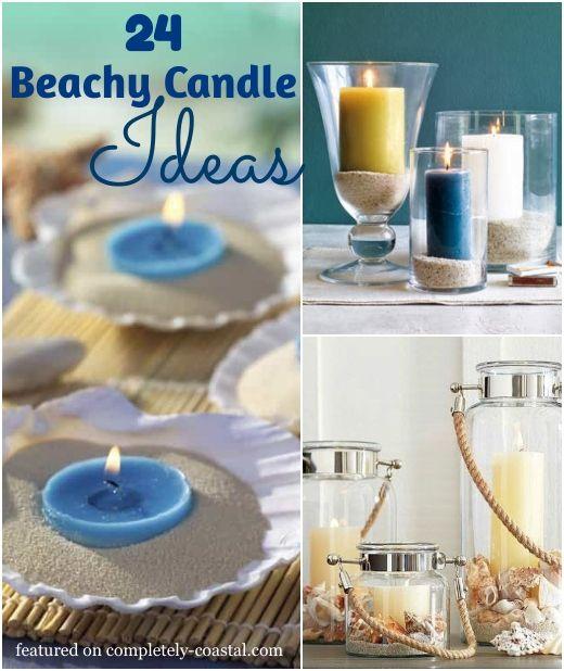 Photo of Candle Ideas with a Coastal Beach Theme