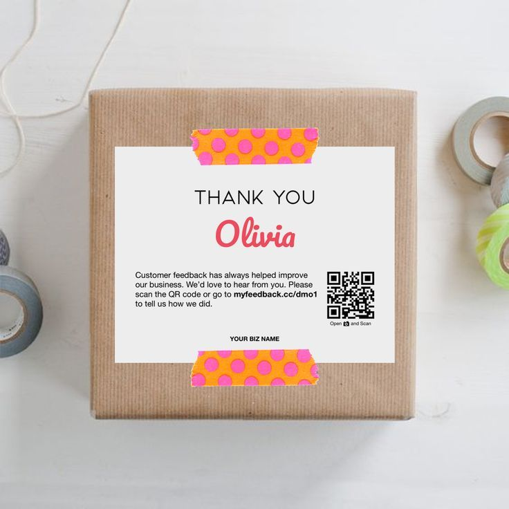 Personalized Business Thank You Cards | Thank You Printable | Thank You For Your Order Cards | Packaging Inserts | Thank You Card Template #businessthankyoucards