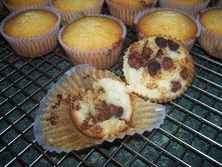 My homemade chocolate chip muffins.  Taste super yummy with milk!