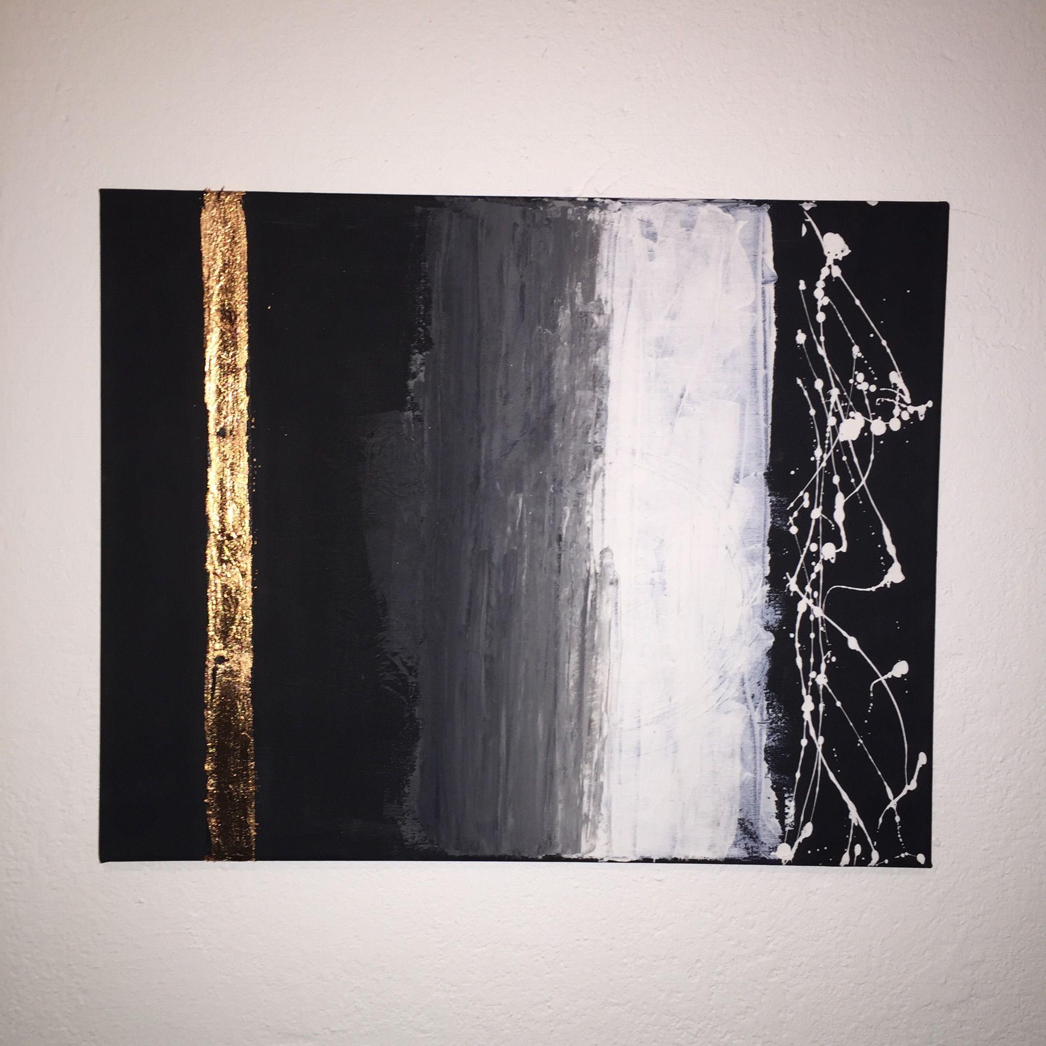 das werk kupfer in schwarz weiss ist ein absolutes unikat im format 40 x 50 cm hier wurden acrylfarben au abstrakte leinwand abstrakt kunst gemalde bilder kaufen acrylmalerei modern