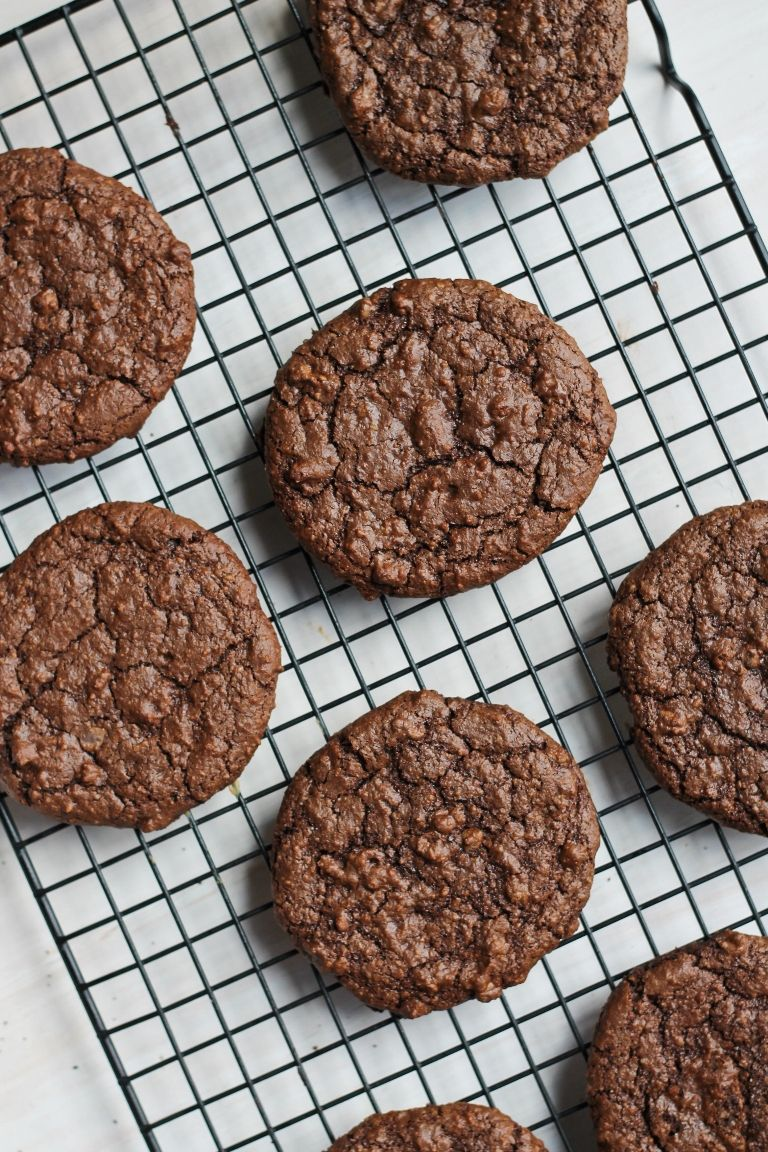 Dark Chocolate Molasses Cookies Vegan And Gluten Free
