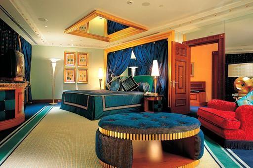 Arabische Schlafzimmer ~ Voor wie wel wat neer wil tellen voor een hotelovernachting: burj