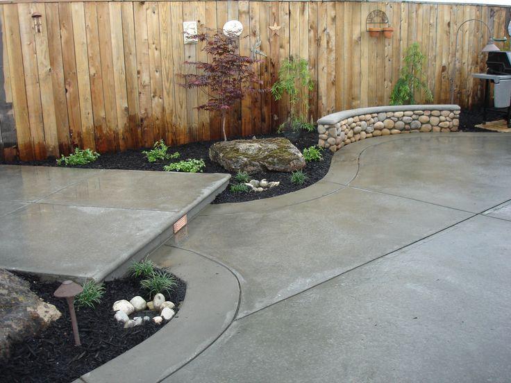 plain concrete patio. Image Result For Plain Concrete Patio With Border