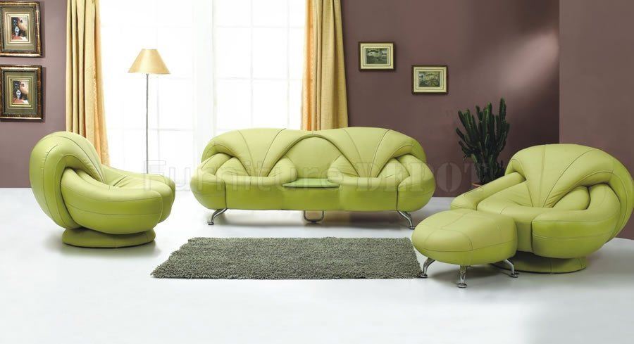 Light Green Sofa Furniture Design Living Room Unique Living