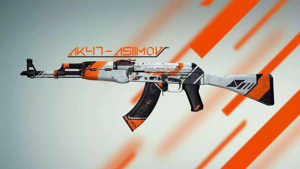 AK47 asimov | colour | Guns, Go wallpaper, Wallpaper cs go