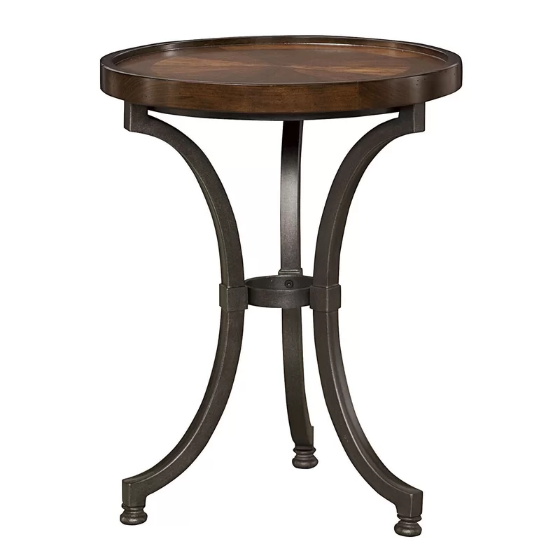 Mcpherson Chairside Table In 2020 Chair Side Table Round Accent
