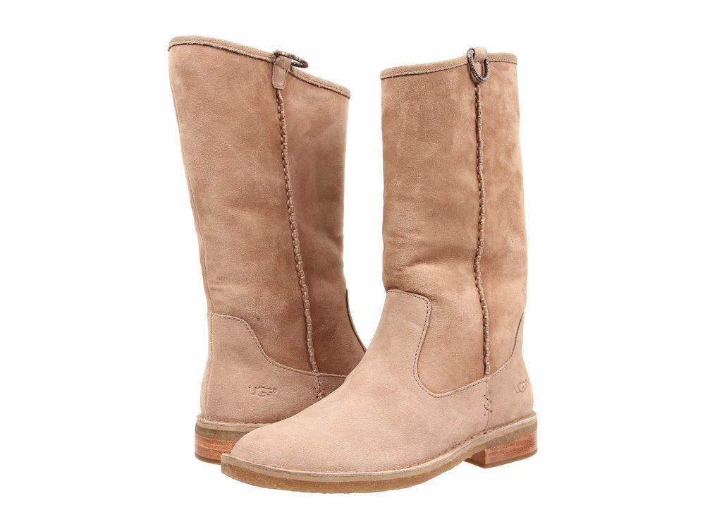 Womens Boots UGG Daphne Sugar Pine Suede