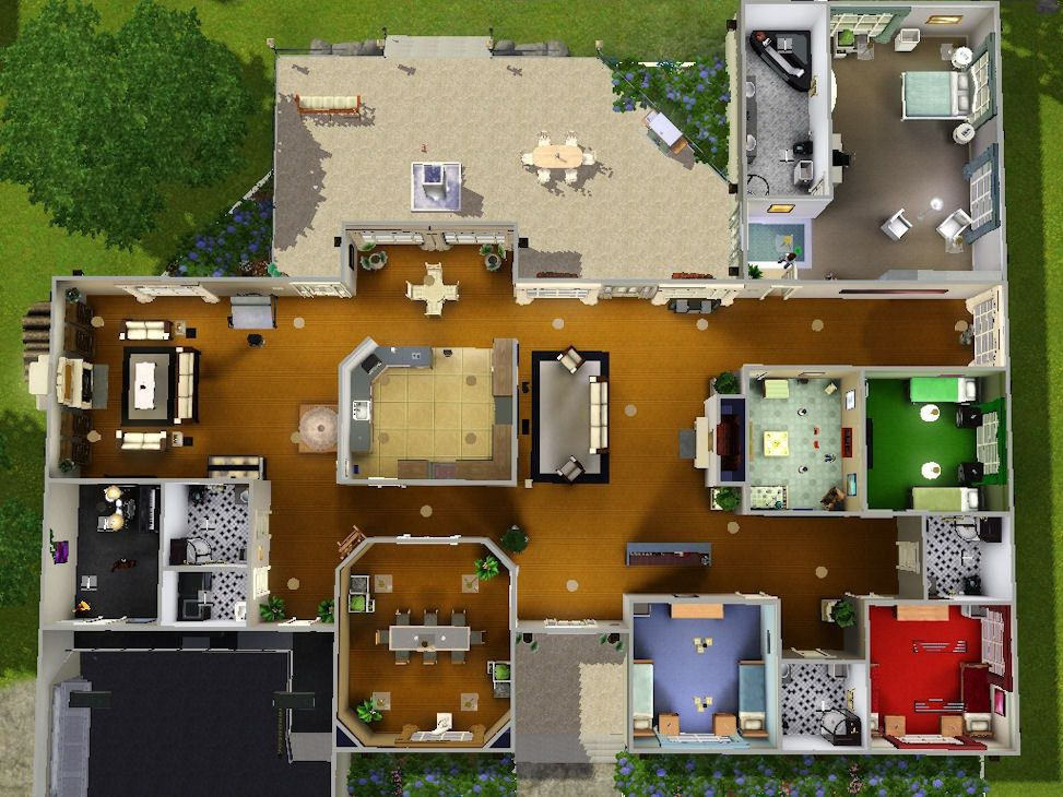 Image result for sims 3 house blueprints 4 bedrooms sims pinterest image result for sims 3 house blueprints 4 bedrooms malvernweather Images