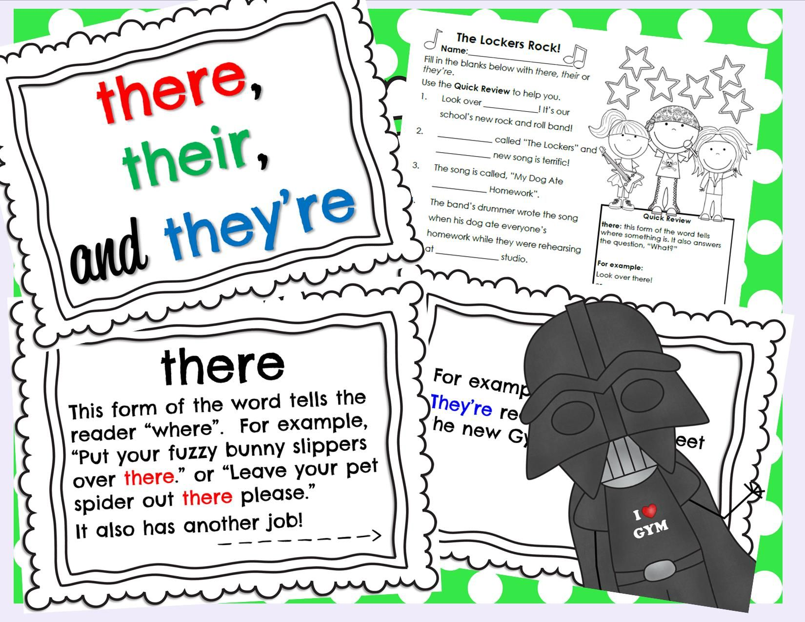 Homophone There Their They Re Powerpoint And Printable