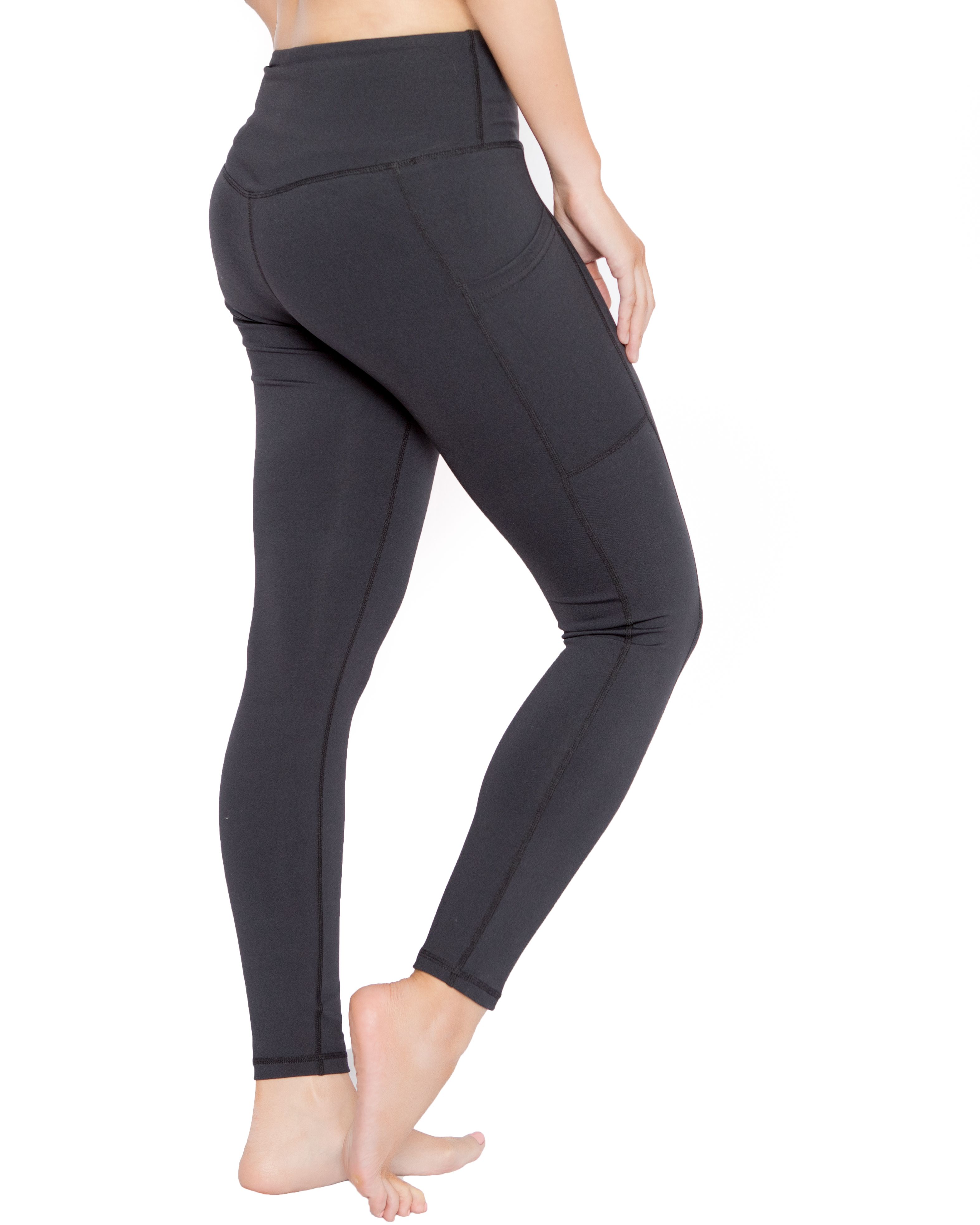 Liuz Yoga Pants for Women Tummy Control Workout Running Tights High Waisted Leggings with Pocket