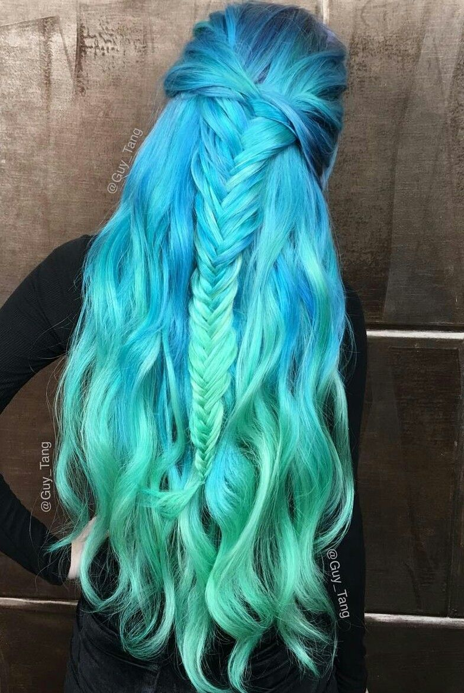 Pin By T1hairs On Braids Pinterest Hair Hair Styles And Mermaid