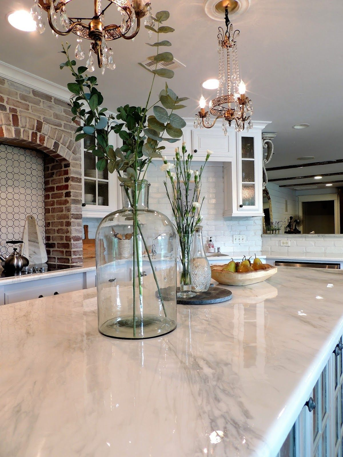 Epoxy Countertops that look like Marble Cheap kitchen