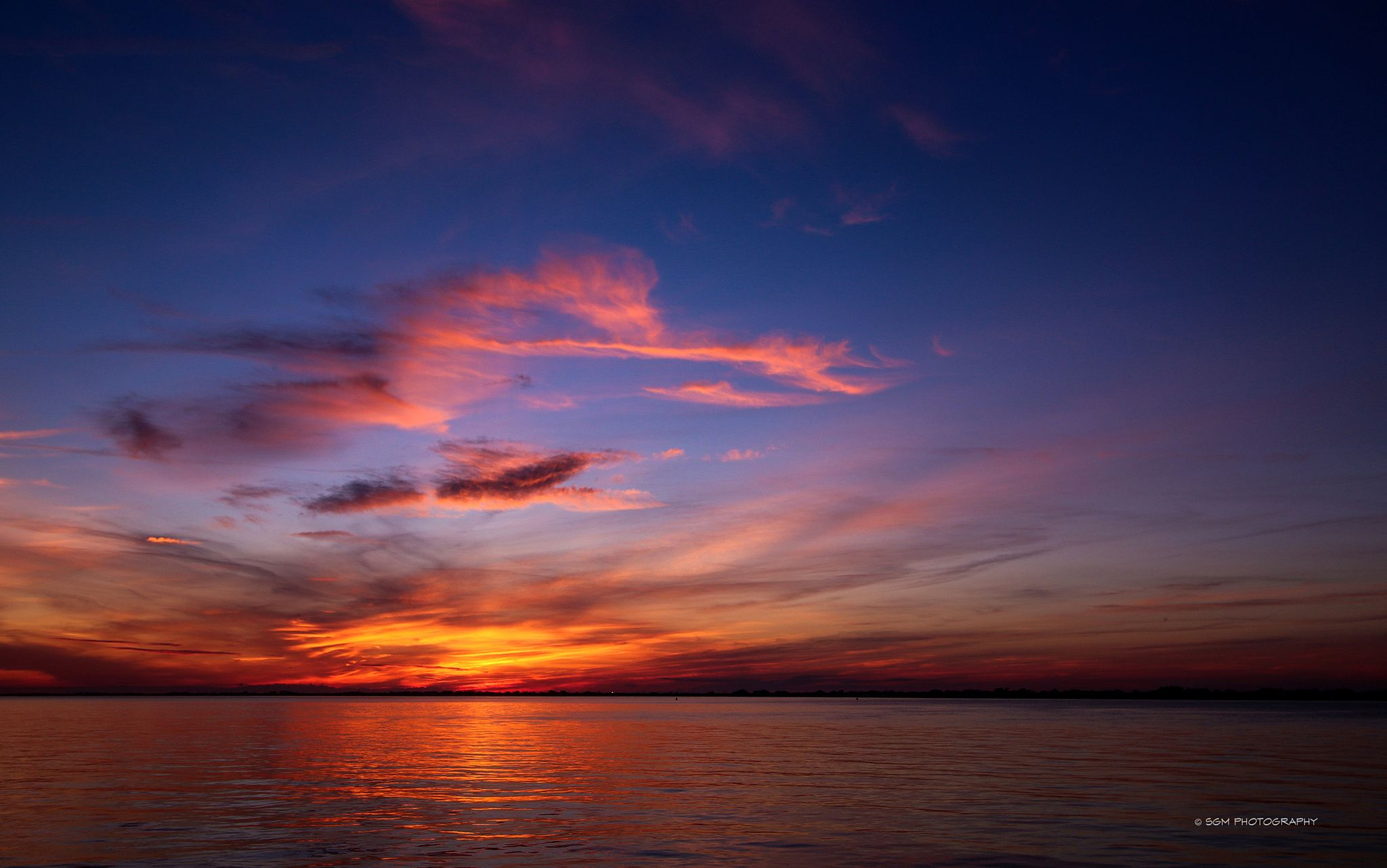 Photo Sky Fire @ Fire Island Inlet par Steve Mitchell on 500px