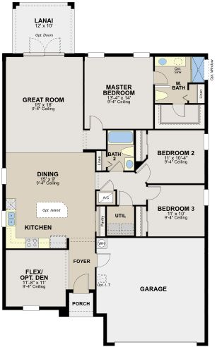 ryland homes floor plans. The Hawthorne By Ryland Homes At Connerton Floor Plans A