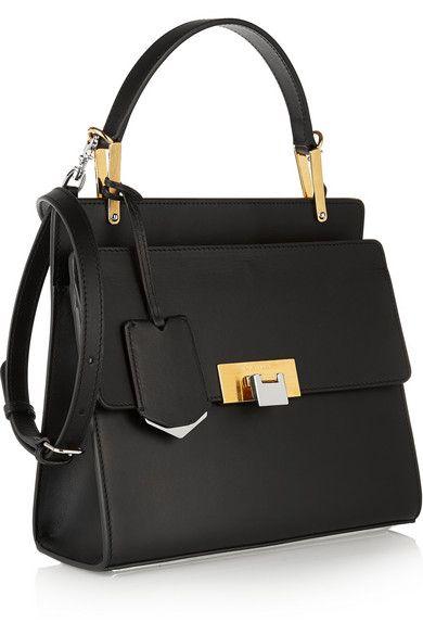 Balenciaga Le Dix Cartable Small Leather Shoulder Bag Net A Porter Com