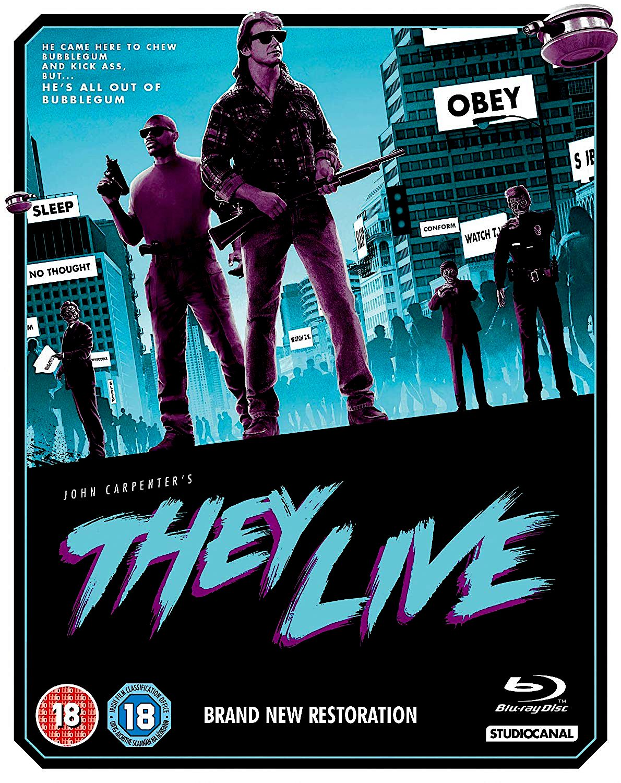 THEY LIVE BLU-RAY UK (STUDIO CANAL)